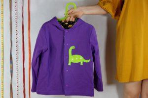 Bluza dwustronna z dinozaurem 116 cm